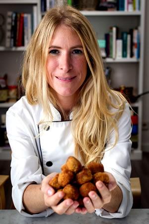 Cristina Comenge, Chef de Oído Cocina Gourmet
