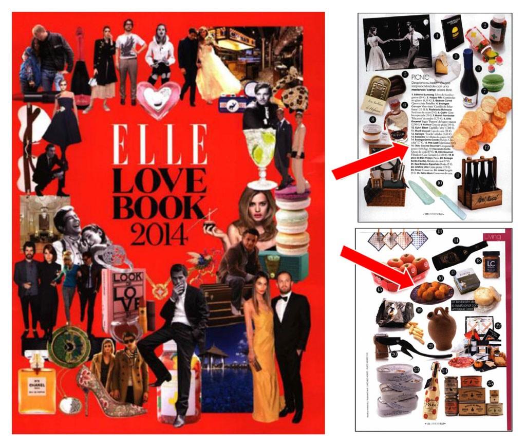 """Aparición en """"Elle Love Book"""""""