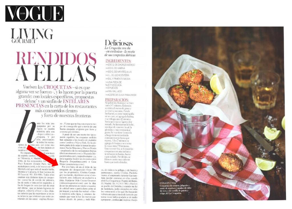 Aparición en Vogue