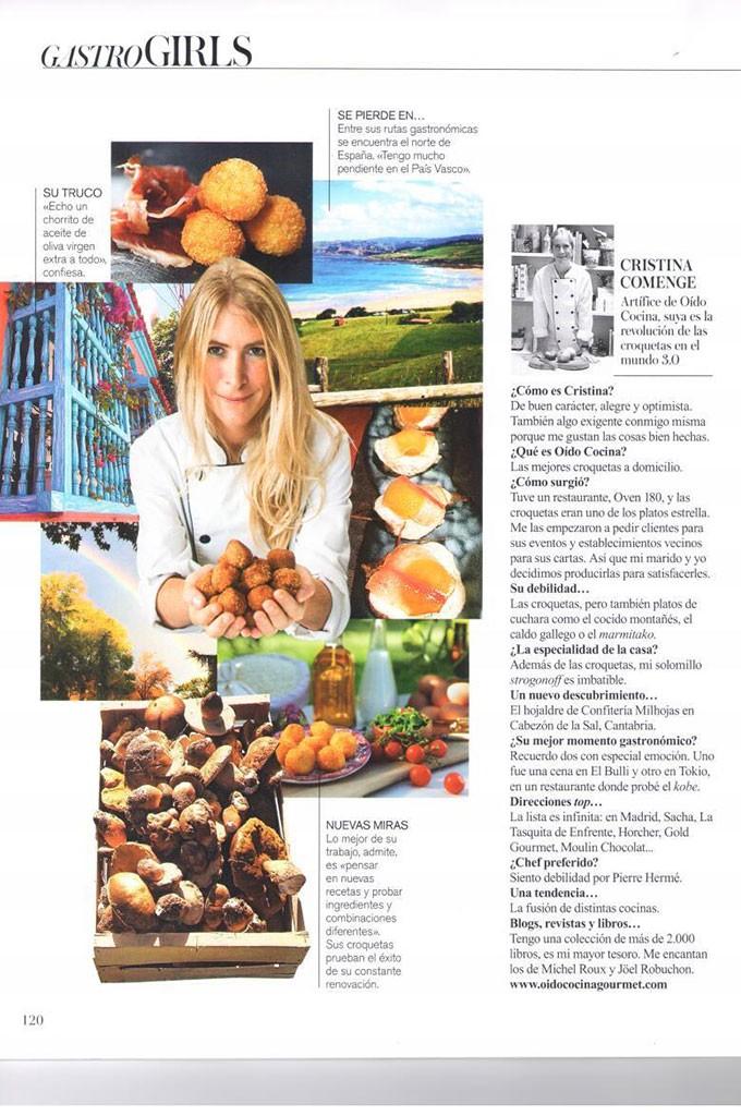 Entrevista en Vogue Living