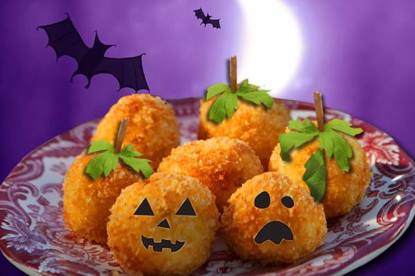 Croquetas para Halloween