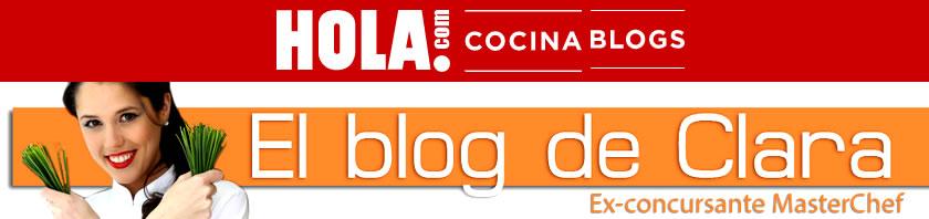 Blog de Cocina en Hola.com de Clara P. Villalón