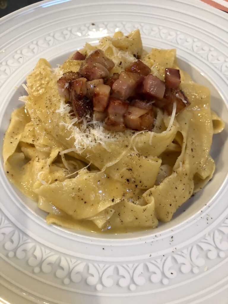 Pappardelle caseros